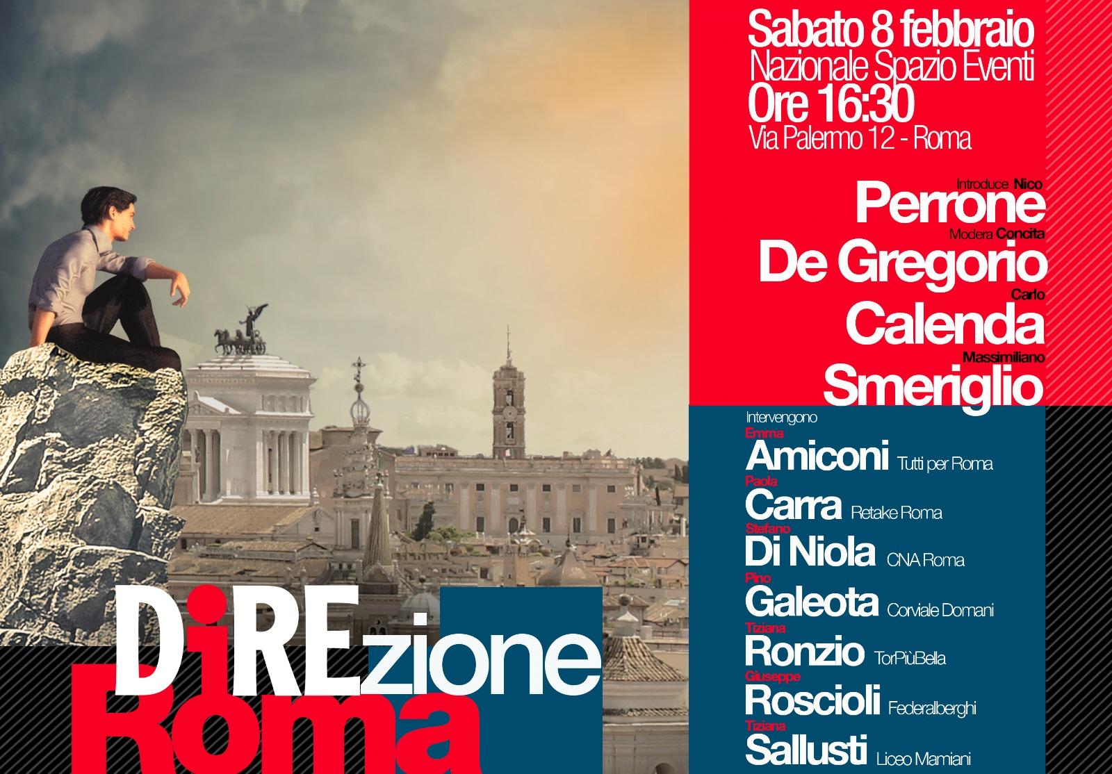 direzione roma