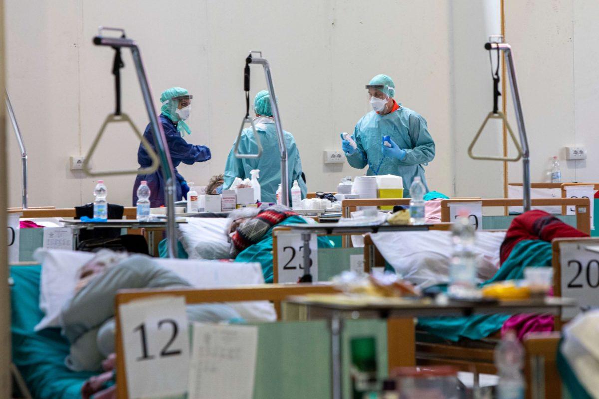 reparto ospedale covid medici
