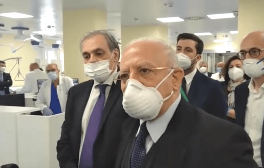 Coronavirus De Luca Chiude Le Scuole In Campania Fino Al 30 Ottobre Dire It