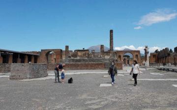 riapertura scavi pompei