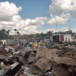 slum demolito in kenya