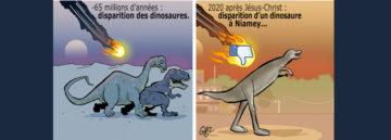 t-rex niger polemica social