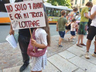protesta scuola_genova