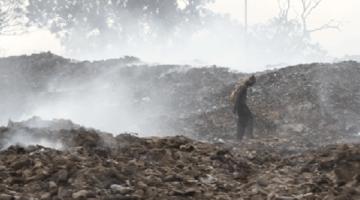 Una discarica abusiva in un terreno abbandonato a Olbia: la segnalazione