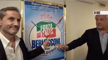 caldoro_tajani_forza italia_regionali campania