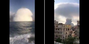 Due esplosioni a Beirut, decine di feriti