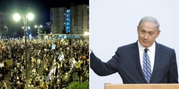"In Israele cortei contro Netanyahu, lui: ""Colpa dei media"""