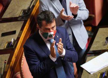 """Centrodestra, Salvini: """"Leader io o Meloni? Io ampiamente prima in sondaggi"""""""