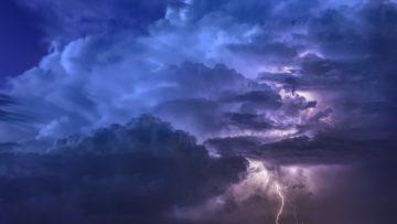 Arriva il maltempo, piogge e temporali sul nord Italia