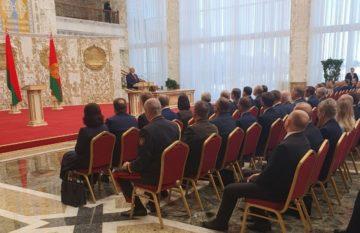 aleksandr Lukashenko_giuramento