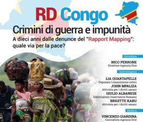 Stop a guerra e impunità nella Repubblica democratica del Congo: il 29 settembre l'incontro alla Dire