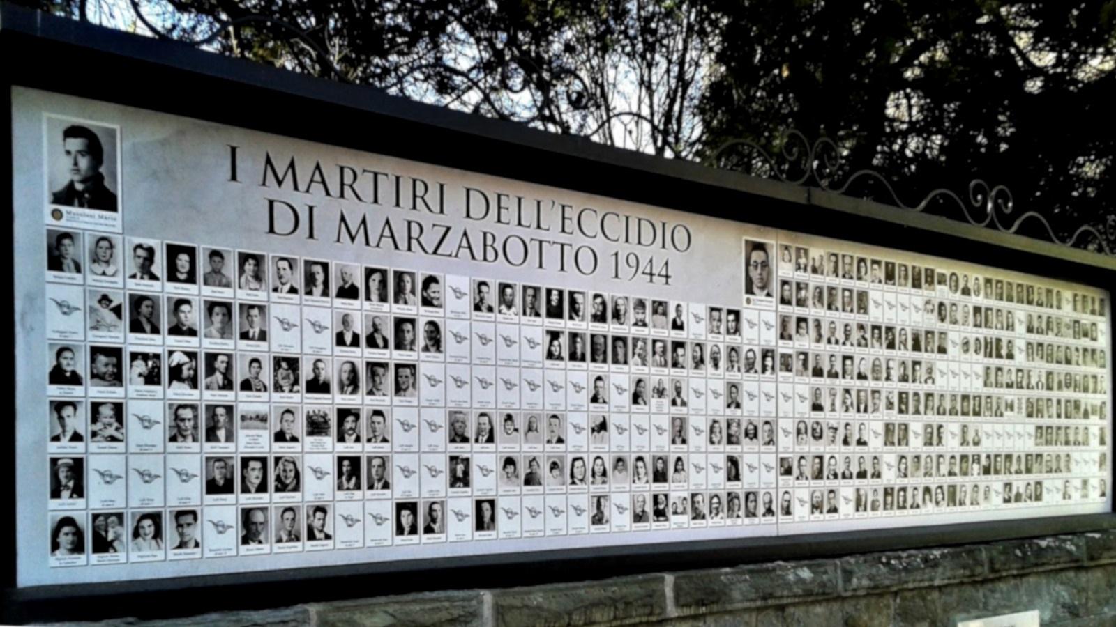 marzabotto caduti memoriale