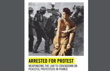 """Amnesty: """"In Francia stretta sui manifestanti, in migliaia arrestati"""""""