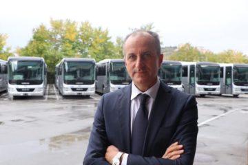 Adolfo Caldarelli, presidente e amministratore delegato delle Autolinee Liscio
