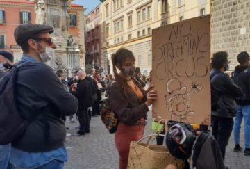 protesta operatori spettacolo_napoli