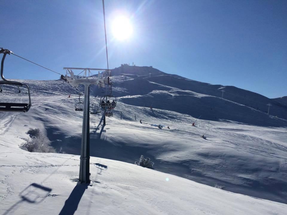 cimone montagna neve sci