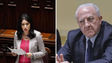 Lucia Azzolina_Vincenzo De Luca