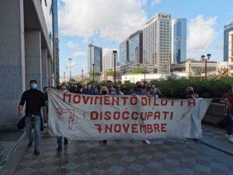 proteste lavoratori napoli