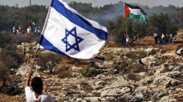 bandiere israele palestina