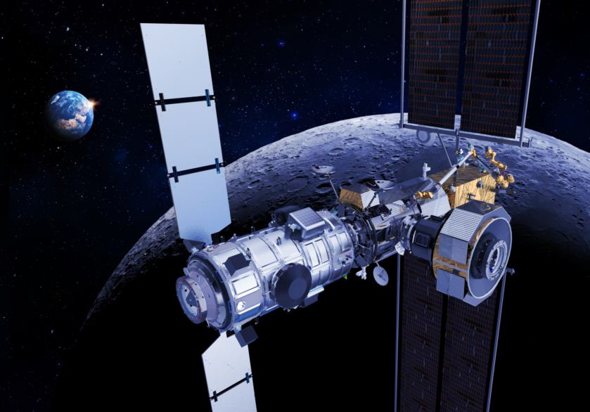 Lunar gateway_Copyright Thales Alenia Space_E.Briot