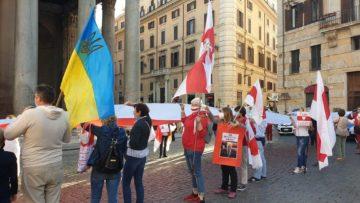 manifestazione bielorussia