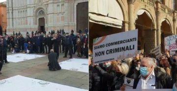protesta ristoratori bologna
