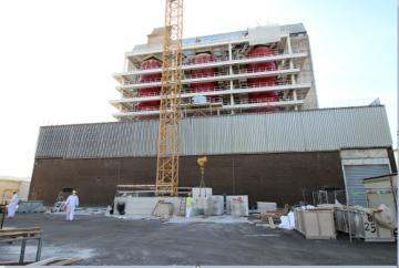 Latina, Sogin termina la demolizione degli schermi boiler dell'edificio reattore della centrale nucleare