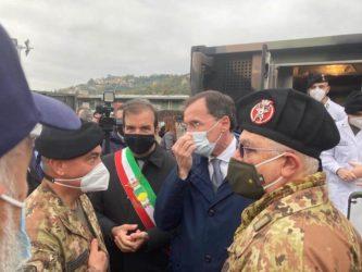 Francesco Boccia_ospedale da campo Cosenza