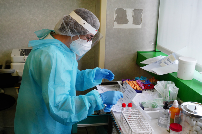 coronavirus tamponi