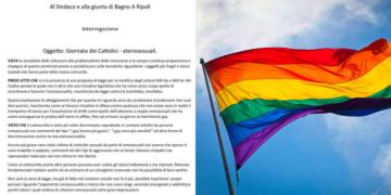 """Il consigliere della Lega contro i gay: """"Ora la giornata del cattolico eterosessuale"""""""
