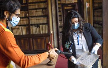 Giacomo Leopardi |  ritrovata rara lettera che sarà custodita nella Biblioteca Nazionale di Napoli