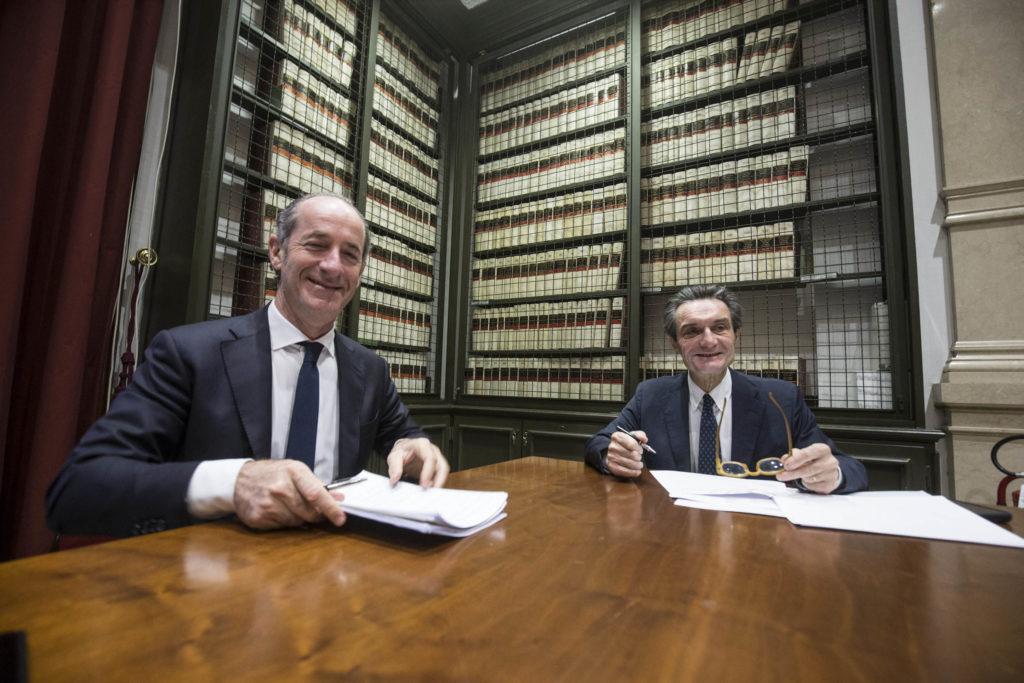 AUDIZIONE DI ATTILIO FONTANA E LUCA ZAIA PRESSO LA COMMISSIONE DELLE QUESTIONI REGIONALI ALLA CAMERA DEI DEPUTATI