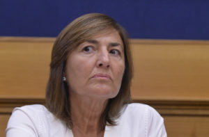 Renata Polverini vota la fiducia a Conte e lascia Forza Italia