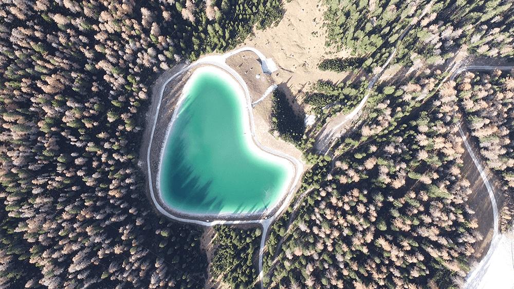 Lago Po' Druscié_cortina