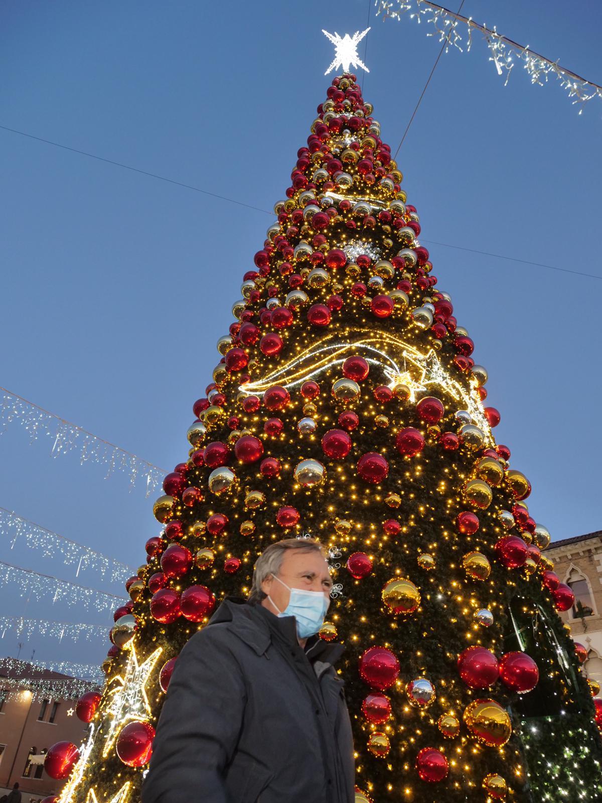 albero natale venezia