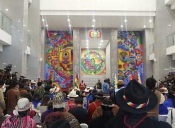 bolivia ministra quechua