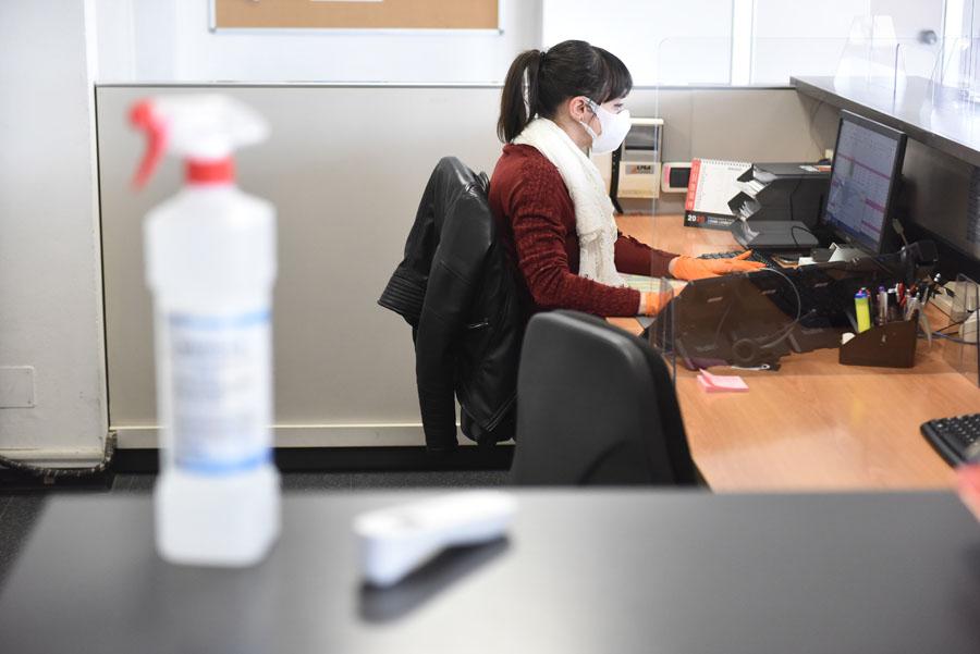coronavirus lavoro ufficio