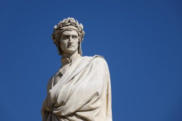 statua dante alighieri