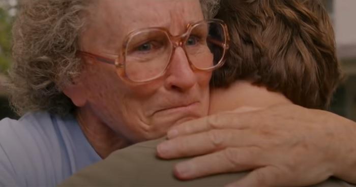 Glenn Close in una scena del film