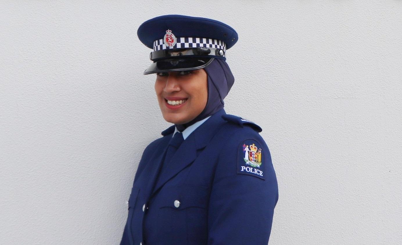 hijab poliziotta nuova zelanda