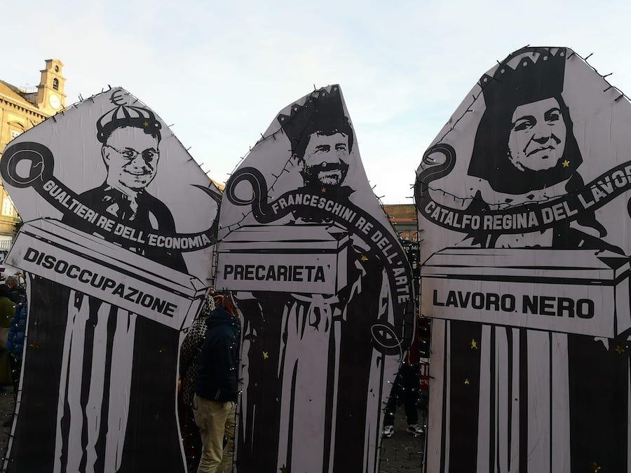 protesta napoli_cultura