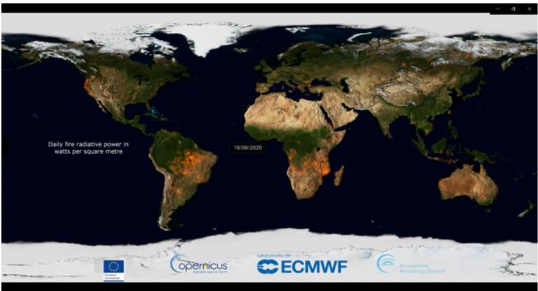 Clima, nel 2020 incendi devastanti ma se ne sono verificati meno
