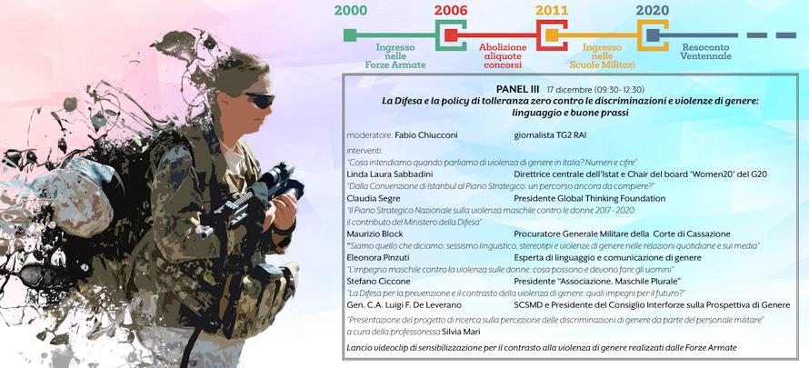 panel donne e forze armate