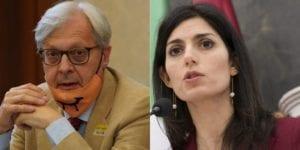 Diffamò Virginia Raggi, condannato Vittorio Sgarbi