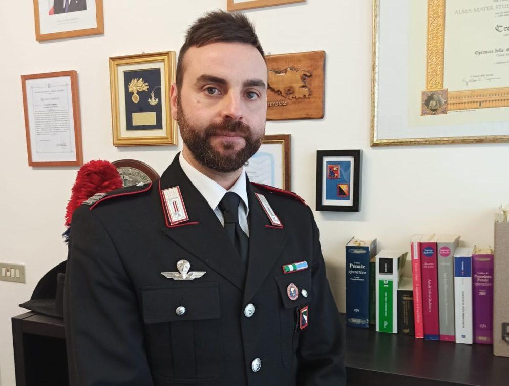 maresciallo capo Crescenzo Altamura carabinieri reggio emilia
