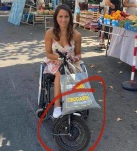 Firenze, rubano il motore alla sedia a rotelle della consigliera comunale