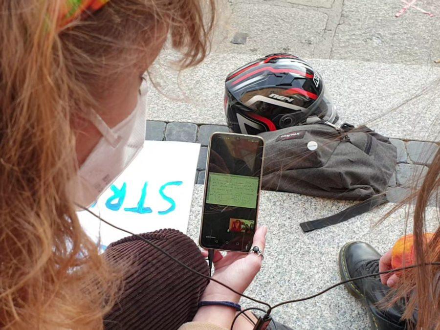 Protesta studenti Genova