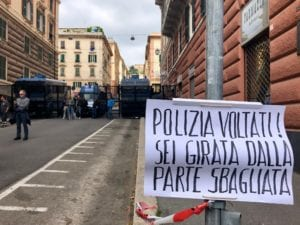 Genova, Zerocalcare, Subsonica e Celestini aiutano gli antifascisti a processo