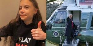 """Greta Thunberg """"trolla"""" Donald Trump: """"Un vecchietto felice con un radioso futuro davanti"""""""