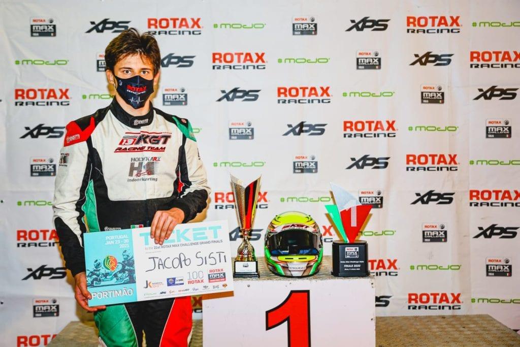 Jacopo Sisti campione kart
